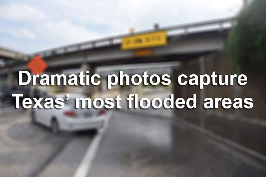 Storms have wreaked havoc across the Lone Star State, leaving billions of dollars in damage and at least eight people dead in Harris County.Here are some of the most dramatic photos from April's storms. Photo: Mark Wilson,  San Antonio Express-News