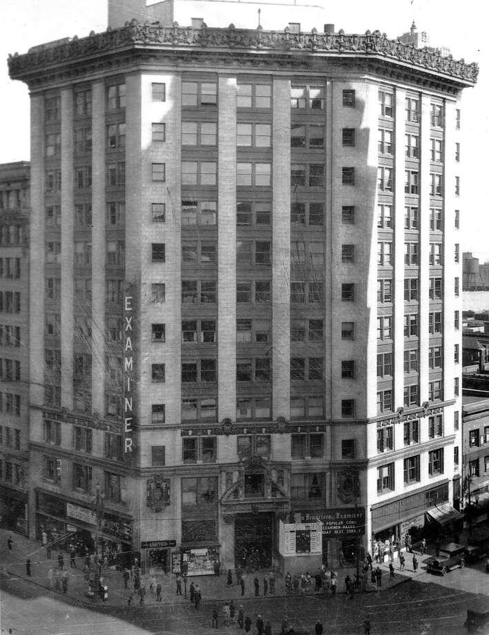 The Hearst Building at Third and Market streets once was home to the San Francisco Examiner. Photo: Examiner, Sfc
