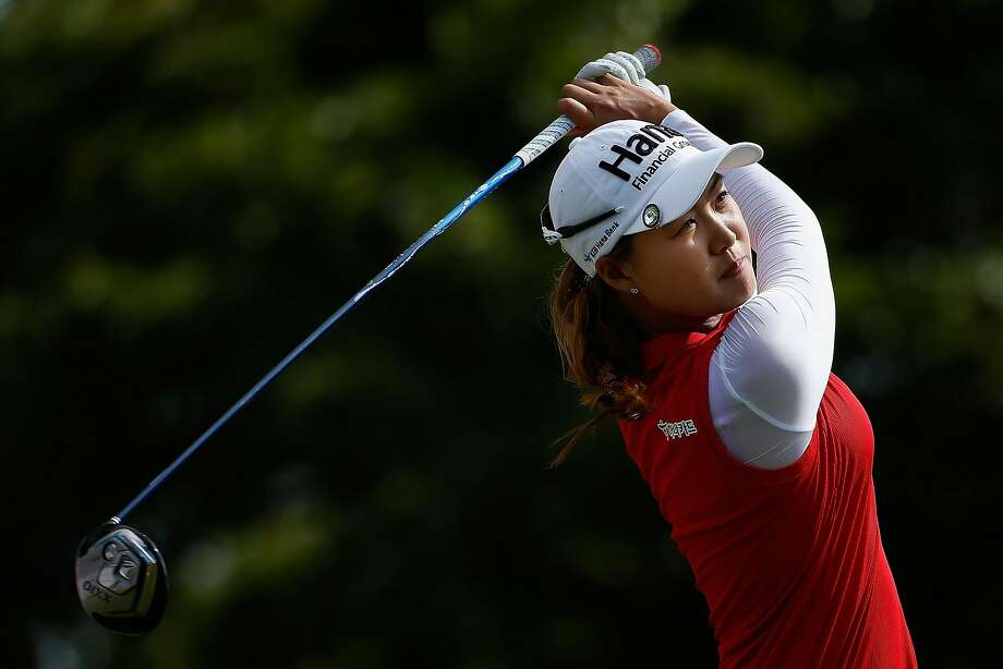 Minjee Lee of Australia carded an 8-under-par 64 in the final round last week to win the LPGA event in Hawaii. Photo: Christian Petersen, Getty Images