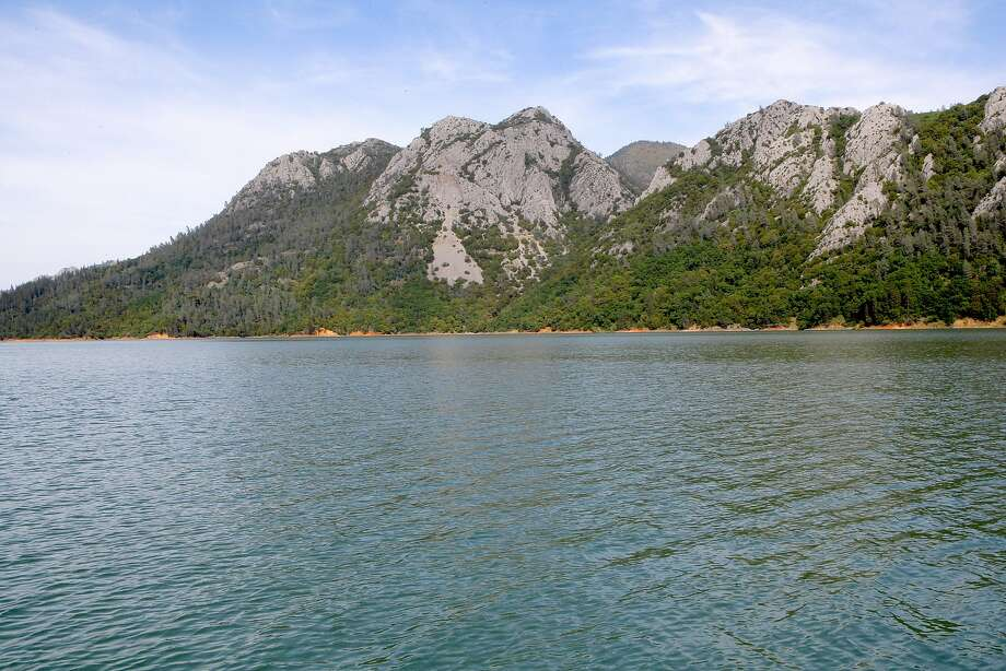 Rejuvenated shasta lake is back as a top destination sfgate for Lake shasta fishing