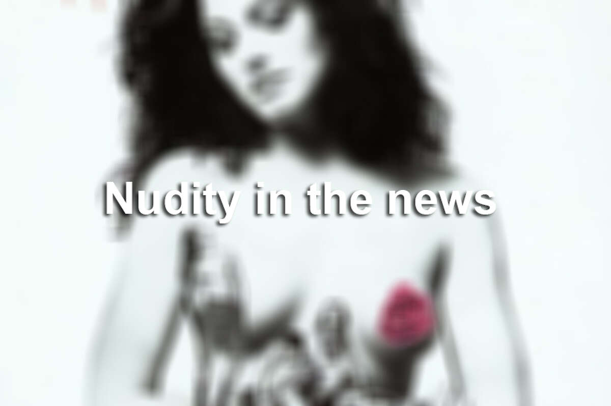 Most of the following people were purposely nude when they made the news.