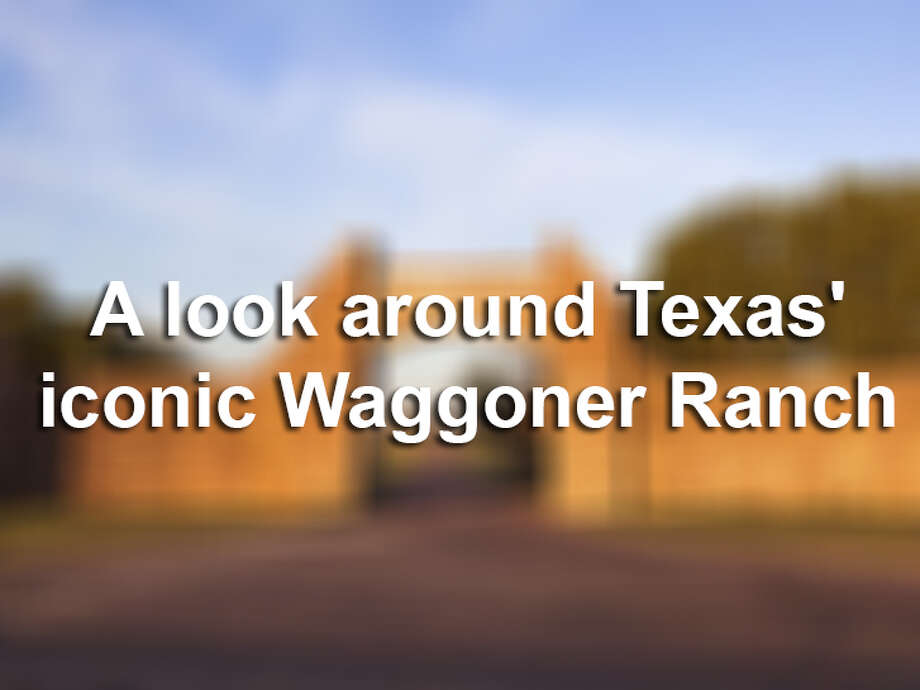 The Waggoner Ranch is one of the largest contiguous ranches in the United States. Here's a look around the property.
