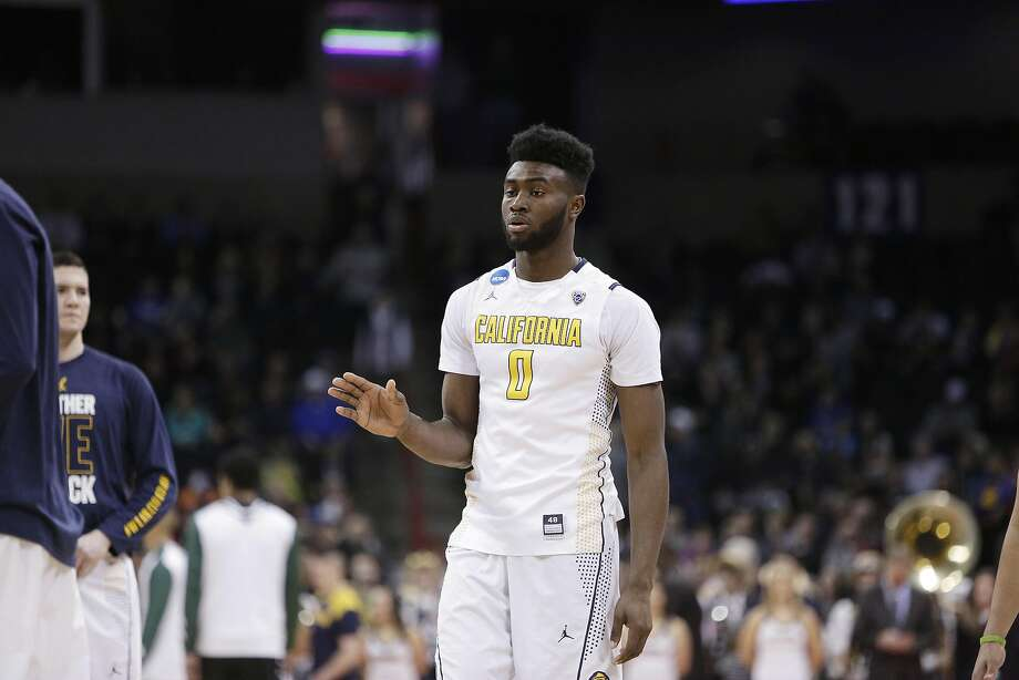 California forward Jaylen Brown (0) walks on the court before a first-round men's college basketball game against Hawaii in the NCAA Tournament in Spokane, Wash., Friday, March 18, 2016. (AP Photo/Young Kwak) Photo: Young Kwak, AP