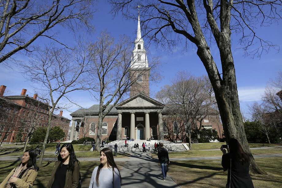 . 6 Harvard University 33 reported rape Photo: Steven Senne, AP