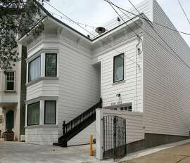 A duplex owned by Amanda Holt in San Francisco, California on tuesday, april 19, 2016.