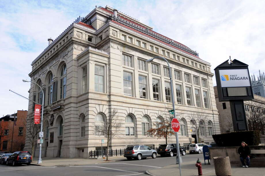 The Troy Music Hall building as seen in 2012. (Times Union archive)