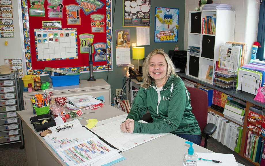 Michelle Fritz, second grade teacher at Laker Schools, has been with the Laker school system since 2000, and plans to stay there until retirement.