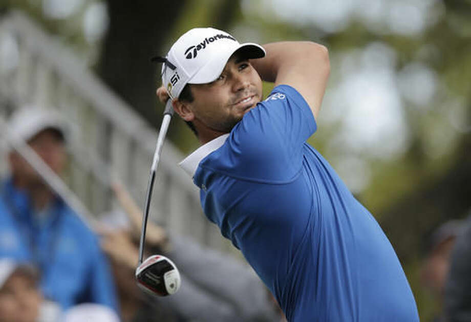 Jason Day, of Australia, hits his drive on the first hole during the semifinal final round against Rory McIlroy, of Northern Ireland, at the Dell Match Play Championship golf tournament at Austin County Club, Sunday, March 27, 2016, in Austin, Texas. (AP Photo/Eric Gay) Photo: Eric Gay
