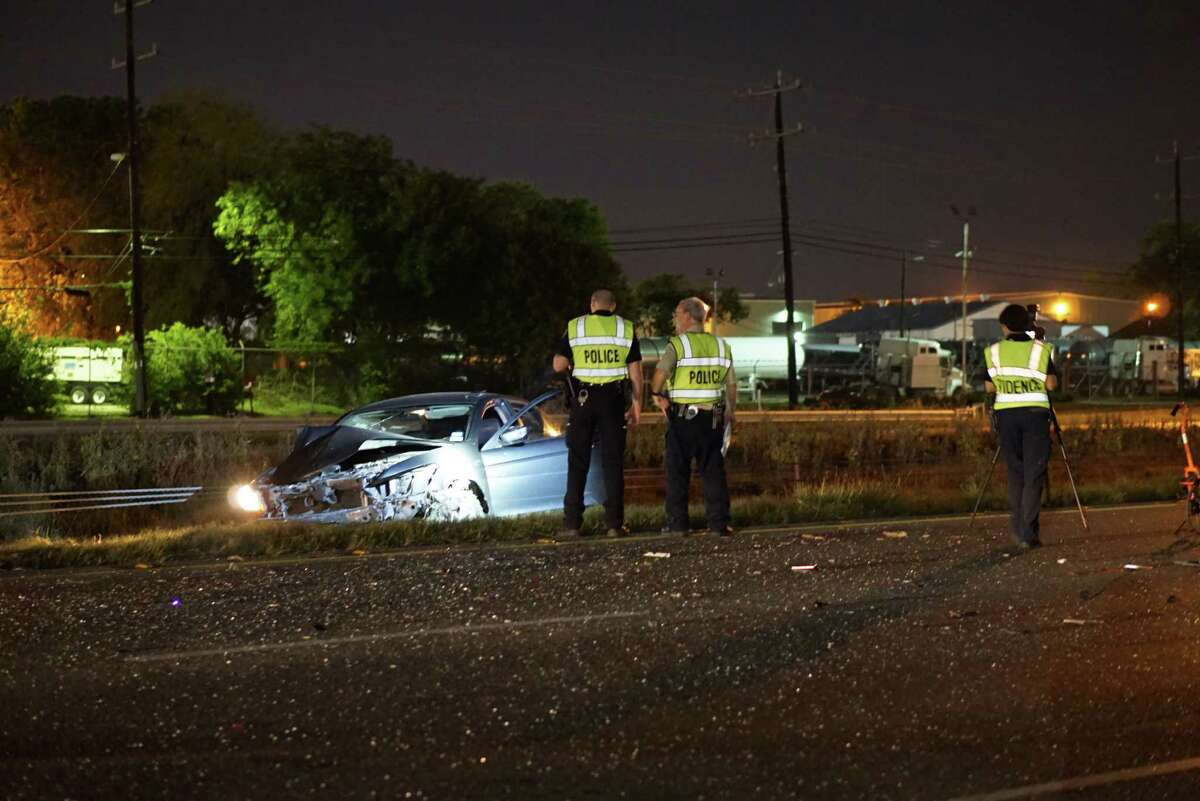 An accident involving two vehicles near I-10 and Ackerman Road claimed the life of a woman Wednesday April 20, 2016.