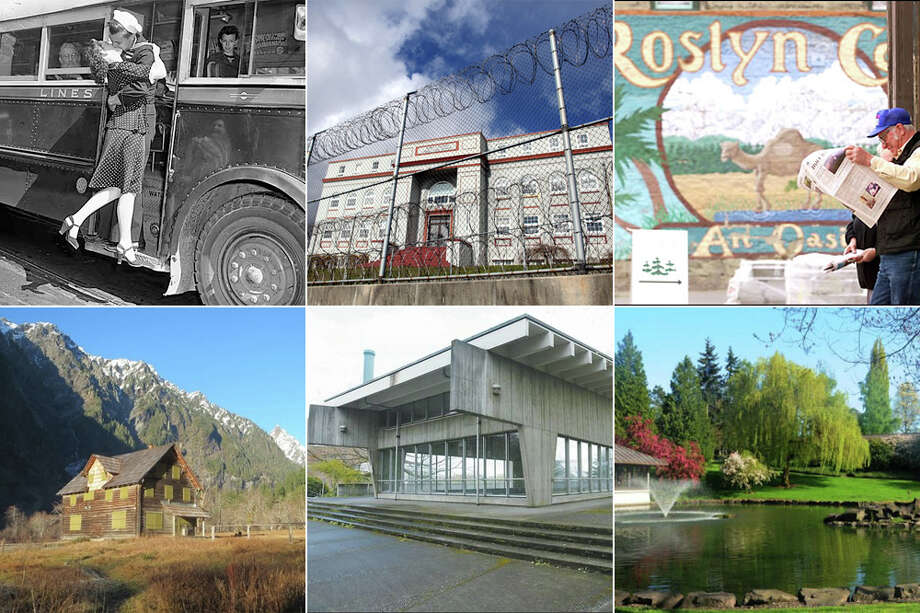 Take a look at a collection drawn from the Washington Trust for Historic Preservation's endangered sites lists, which highlight Washington places and structures in danger of demolition.