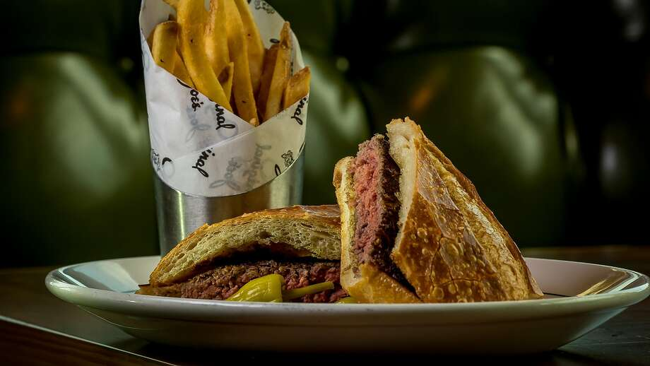 Joe's Hamburger at Original Joe's Westlake in Daly City. Photo: John Storey / Special To The Chronicle