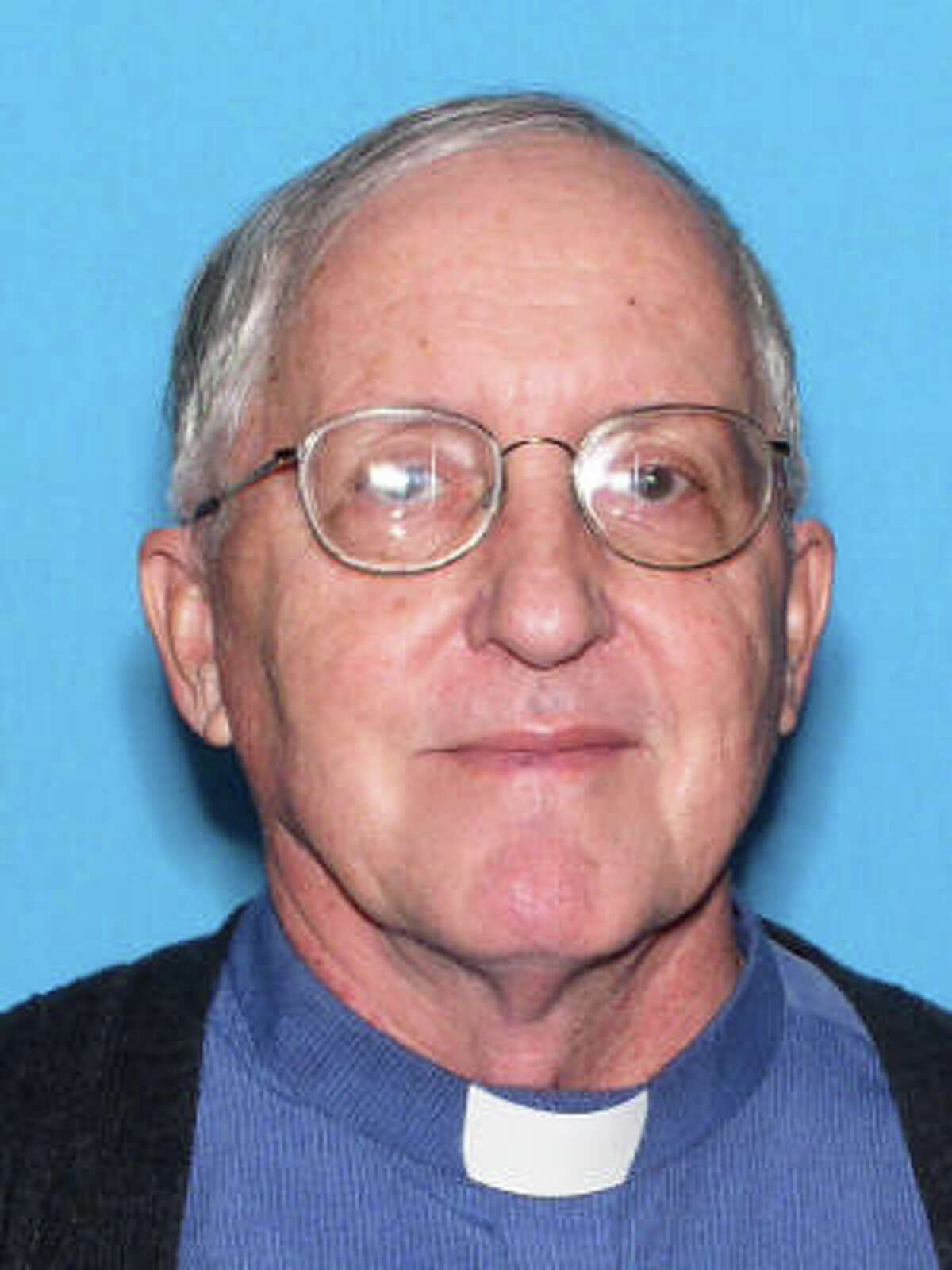 This photo provided by St. Johns County Sheriffs Office shows Father Rene Wayne Robert, a Roman Catholic priest in Florida whose body was found in rural east Georgia, who dedicated his life to working with prisoners and society's downtrodden. He was reported missing April 12 after church officials became concerned when he missed an appointment. (FHSMV/St. Johns County Sheriffs Office via AP) ORG XMIT: NY113