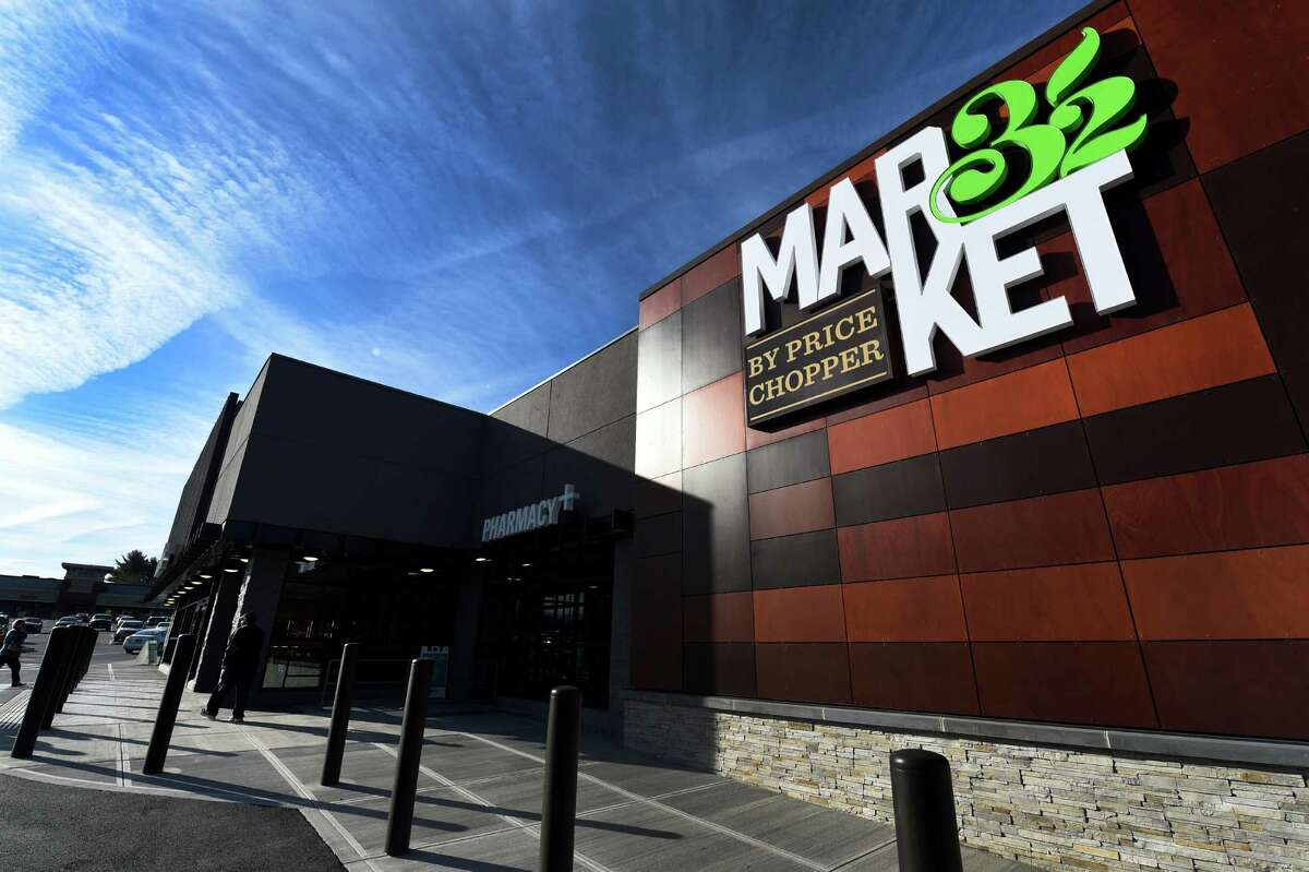 The new look of the Market 32 store on grand opening day Thursday April 21, 2016 in Guilderland, N.Y. This Market 32 is one of four that are opening today in the region. (Skip Dickstein/Times Union)