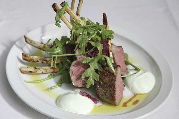 Lamb chops at Bella on the River