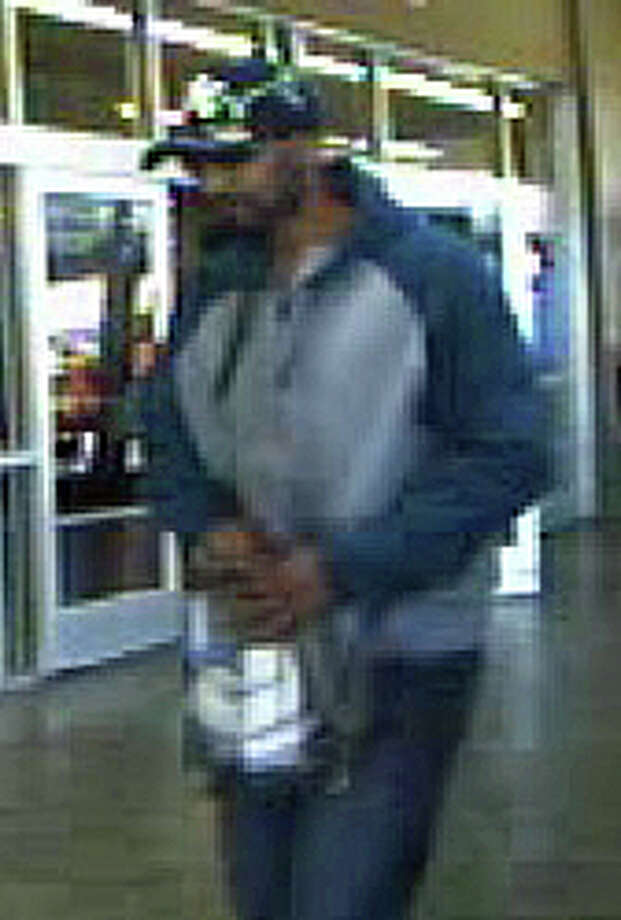 This is the suspect Derby police are looking for in connection with the robbery of the Wal-Mart on Thursday, April 20, 2016. Photo: /