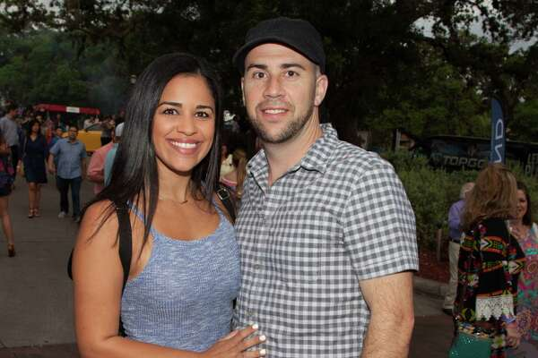 Fiesta revelers enjoyed clear skies and delicious eats at the upscale foodie event, Taste of Northside, at the Club at Sonterra on April 20, 2016.
