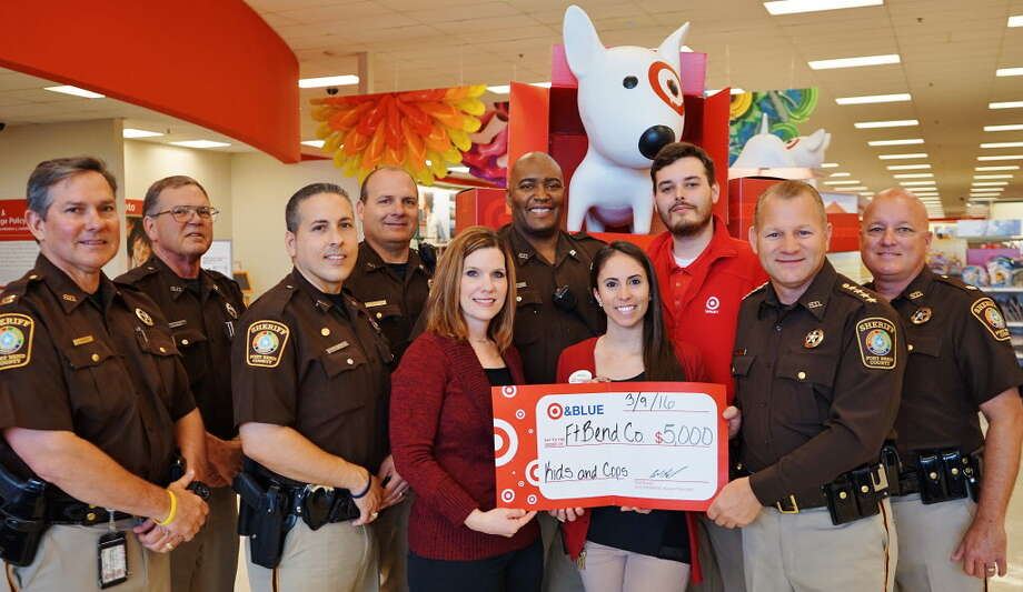 Target Donation To Help Deputies Who Work With Children