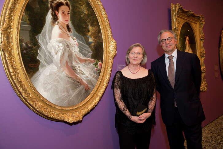 Dr. Helga Aurisch and Prince Tassilo Metternich-Sandor
