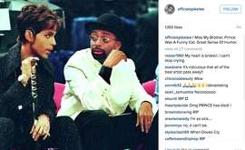Spike Lee reacts to the death of Prince.