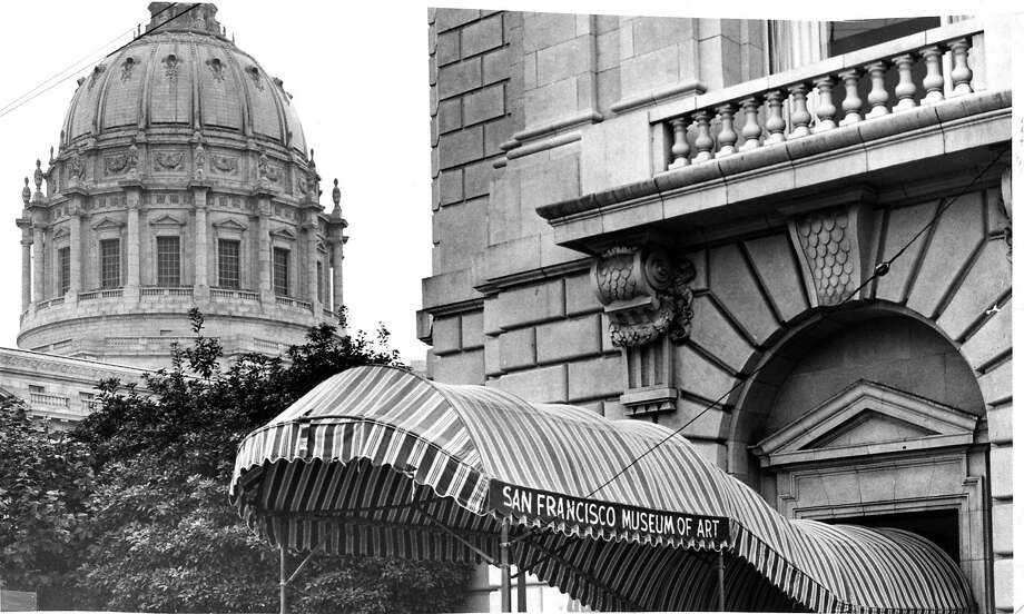 The San Francisco Museum of Art in 1965. It was renamed the San Francisco Museum of Modern Art in 1975. Photo: Joe Rosenthal, The Chronicle