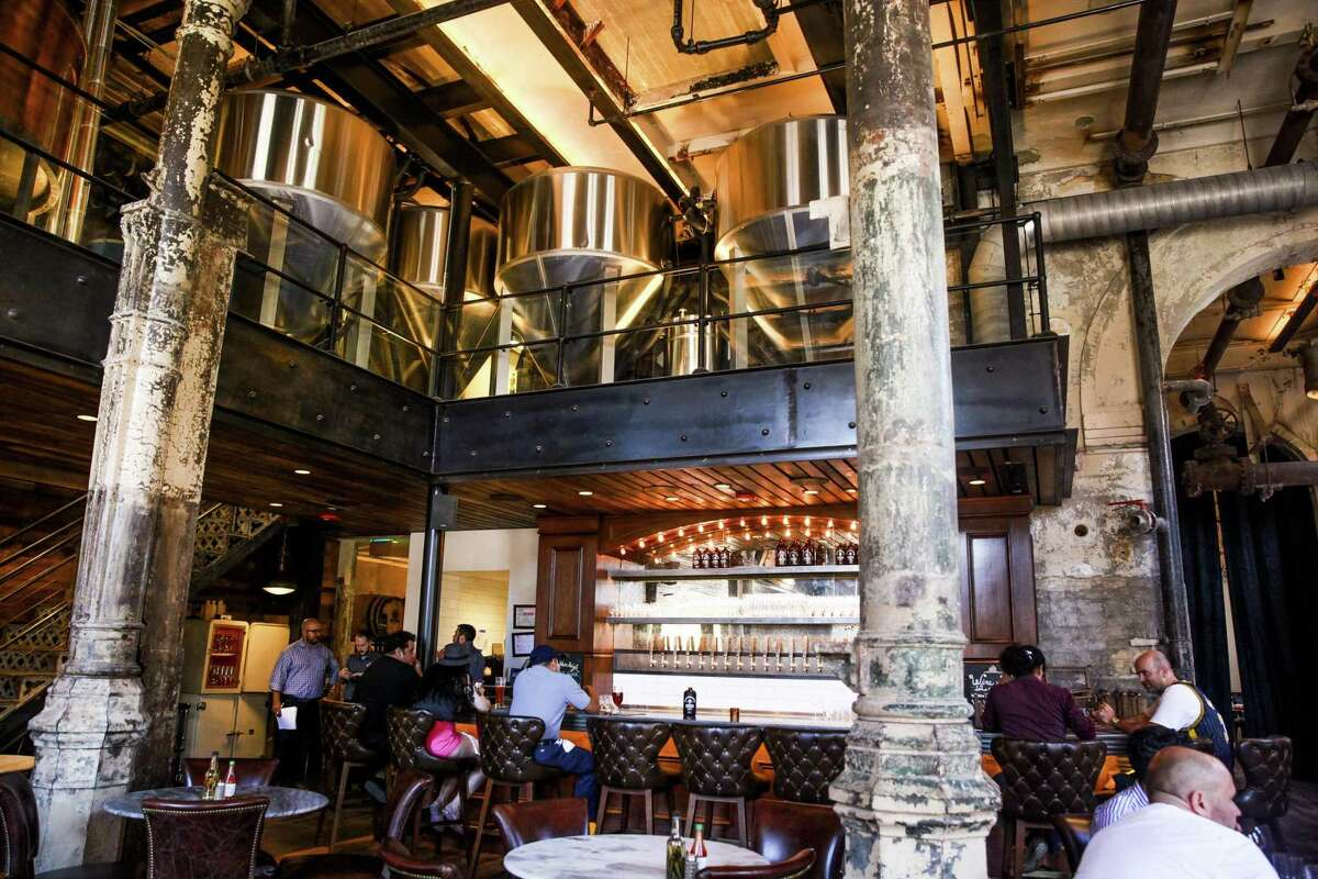 Interior of Southerleigh Fine Food & Brewery