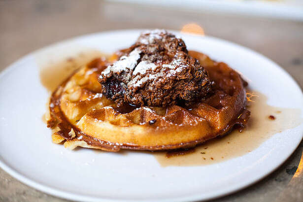 Brigid will offer its take on chicken and waffles at brunch.