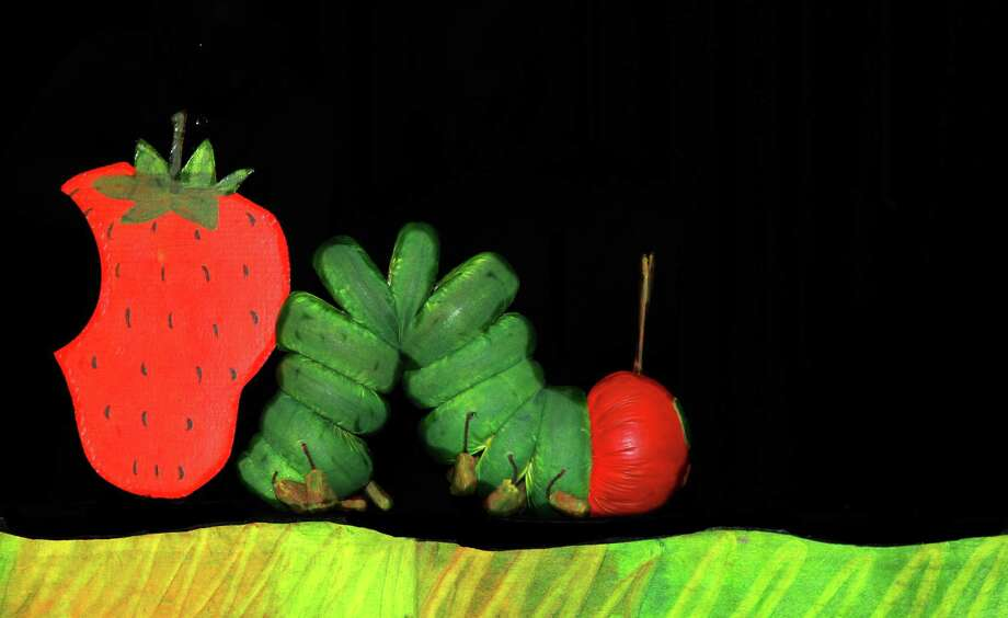 """""""The Very Hungry Caterpillar""""  with the Mermaid Theatre of Nova Scotia"""