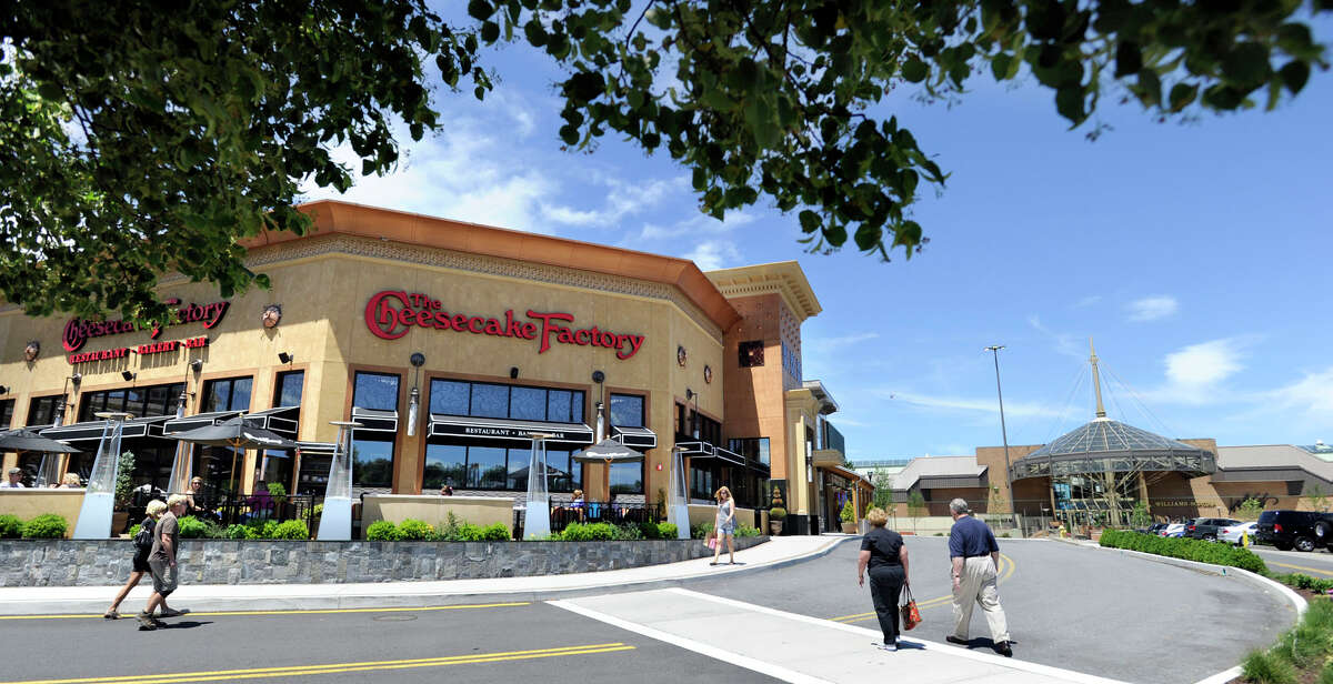 The Cheesecake Factory opened at the Danbury Fair mall in 2011. Another is reportedly headed to Stamford at the current P.F. Chang's restaurant.
