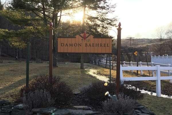 Damon Baehrel?s restaurant sign in Earlton. (Susie Davisdon Powell)