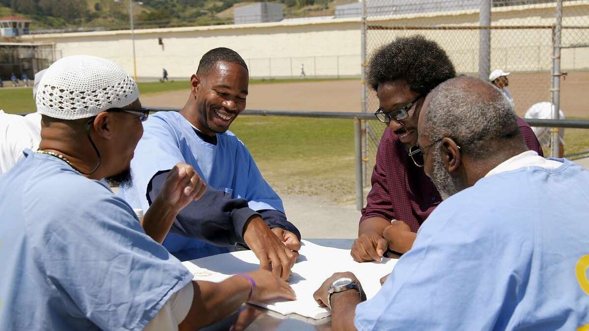 Image from San Quentin, from the CNN docuseries W. Kamau Bell and United Shades of America.