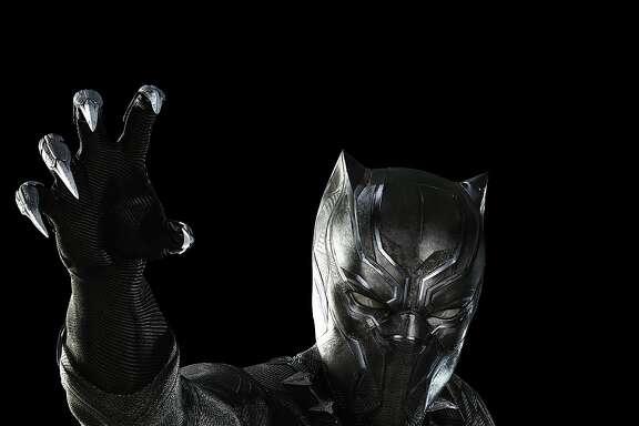 Marvel's Captain America: Civil War..Black Panther/T'Challa (Chadwick Boseman)..Photo Credit: Zade Rosenthal..� Marvel 2016