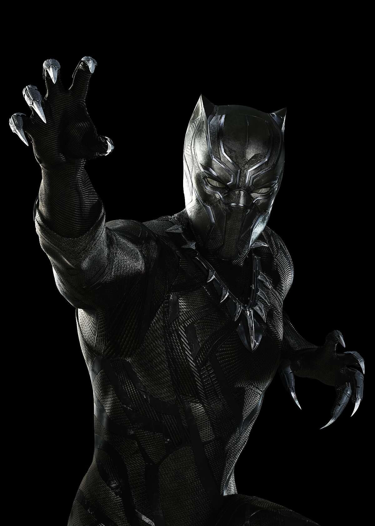 Marvel's Captain America: Civil War..Black Panther/T'Challa (Chadwick Boseman)..Photo Credit: Zade Rosenthal, Marvel 2016