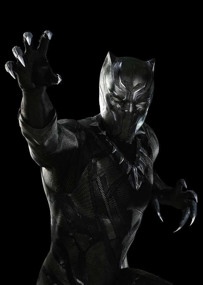 Marvel's Captain America: Civil War..Black Panther/T'Challa (Chadwick Boseman)..Photo Credit: Zade Rosenthal..� Marvel 2016 Photo: Marvel