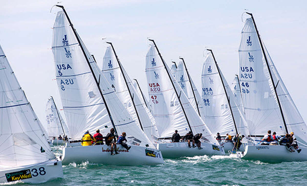 Lakewood Yacht Club will host the J/70 North American Championship May 19-22 on Galveston Bay.