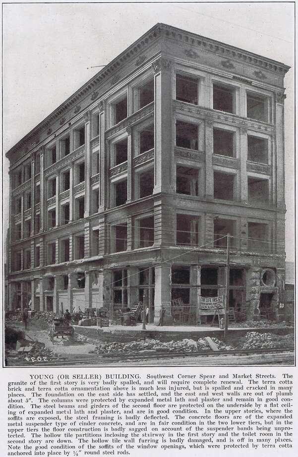 san francisco earthquake 1906 engineer 39 s documentation of the calamity sfgate. Black Bedroom Furniture Sets. Home Design Ideas