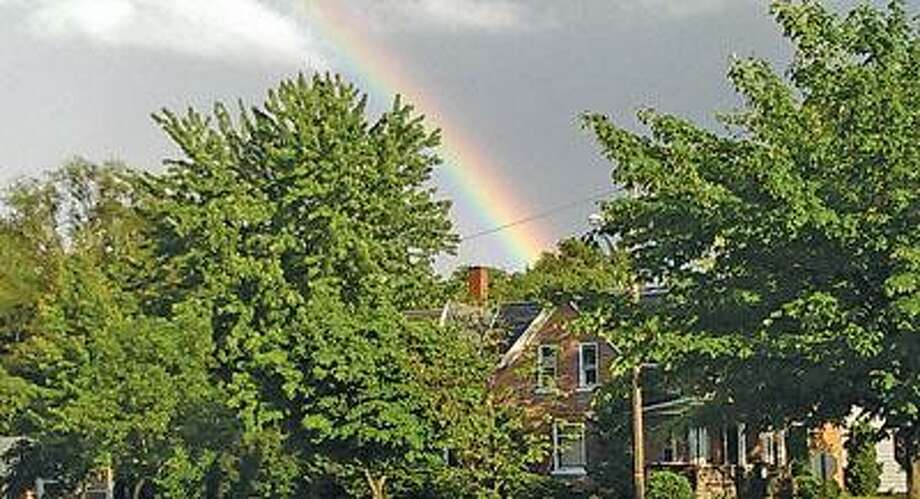 A rainbow after the storm