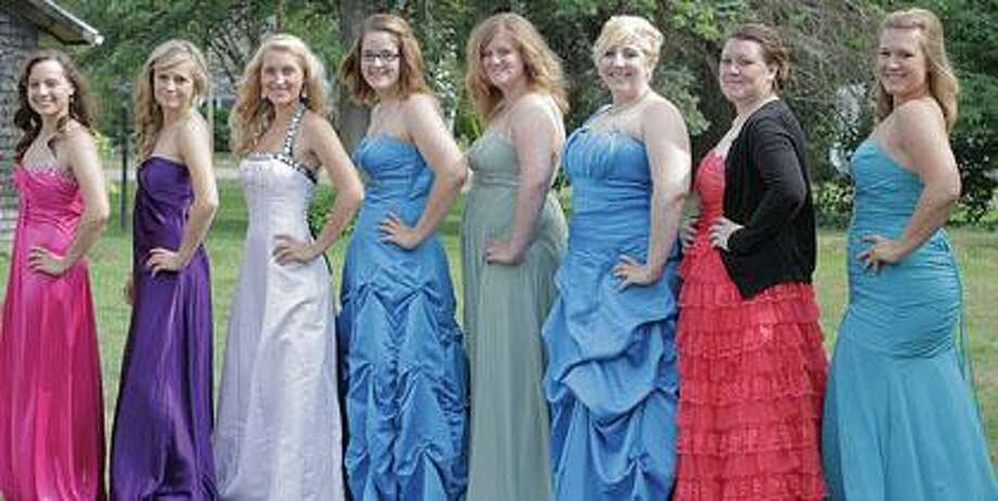 Pictured are the Bay Port Queen candidates.