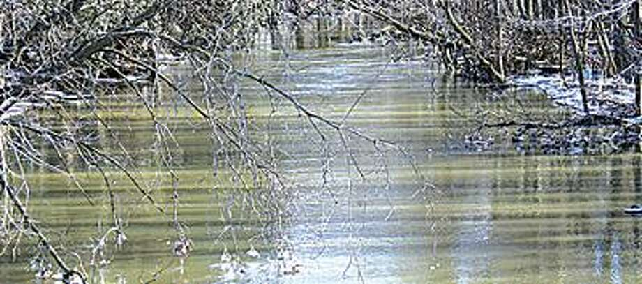Pigeon River in western Huron County