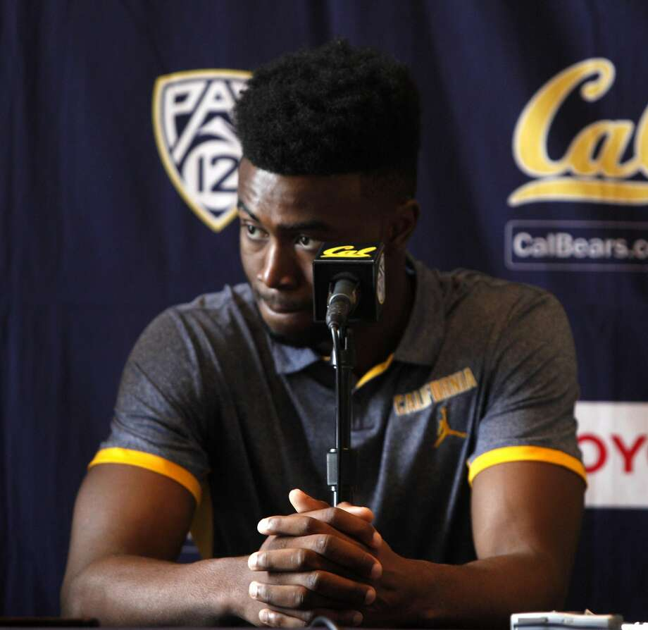 Jaylen Brown speaks to the press after announcing his intention to go pro at a press conference at UC Berkeley campus in Berkeley, Calif., on Thursday, April 22, 2016 Photo: Brittany Murphy, The Chronicle