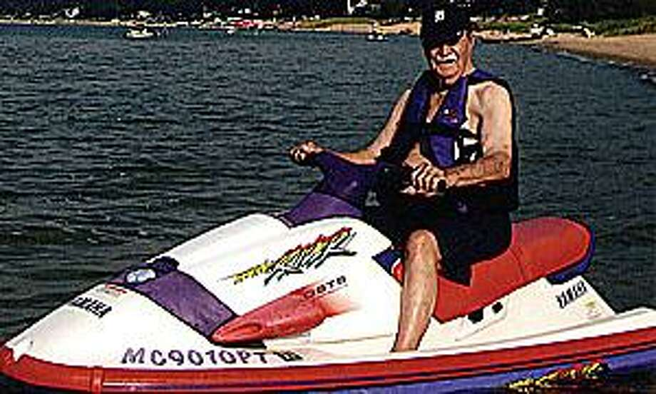 For his 99th birthday last year, Elkton's Alex Bulatow got to ride a Jet Ski for the first time. He says he enjoyed the experience.