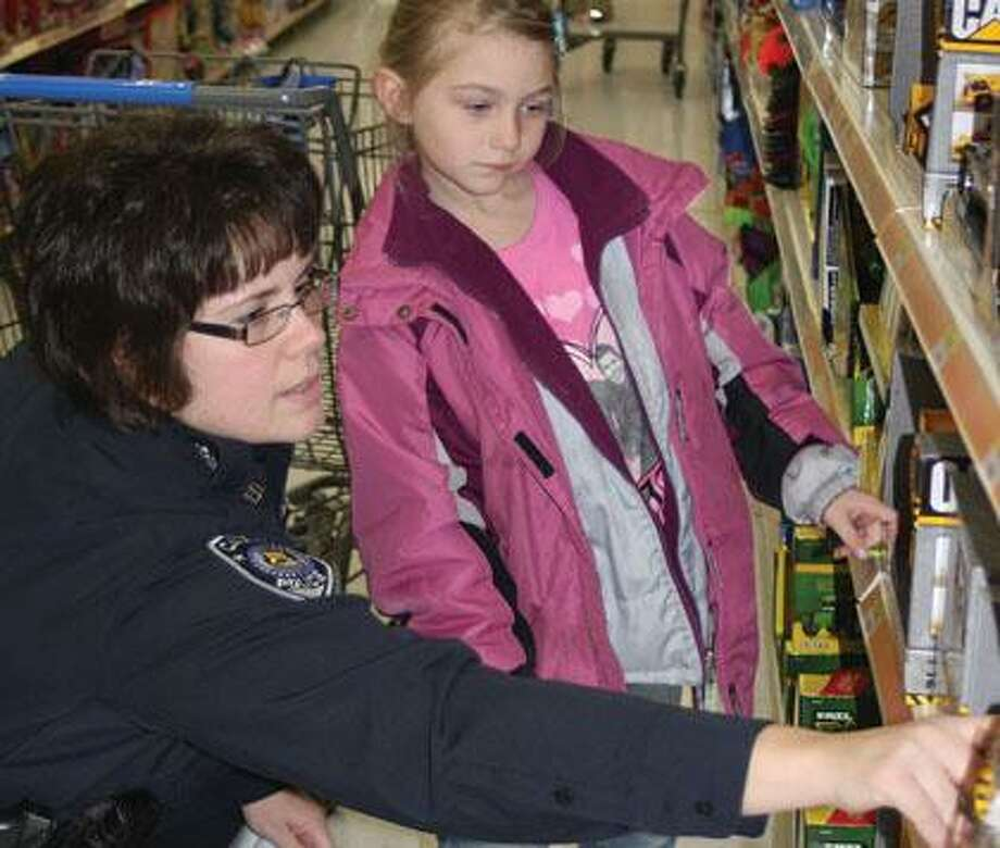Shop with a Hero took place Wednesday afternoon.