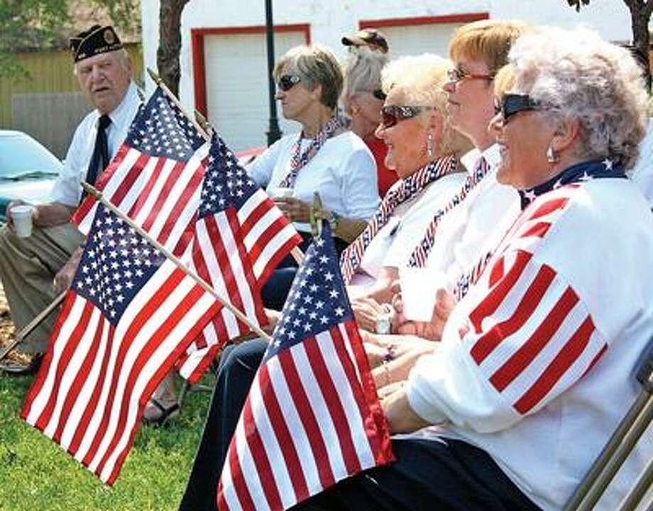 Memorial Day Service in Port Austin