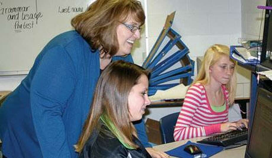 Laurie Britt's students are writing novels this month.