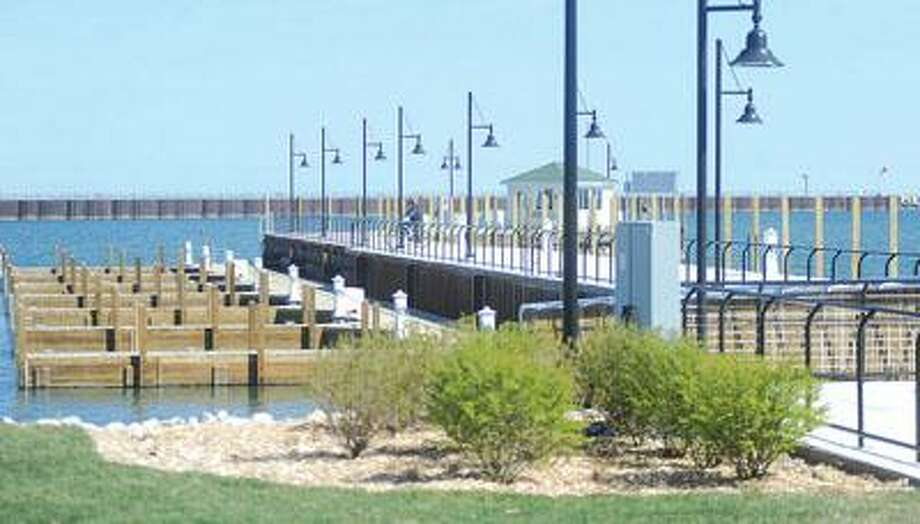 The new docks in Port Austin look ready for boaters.