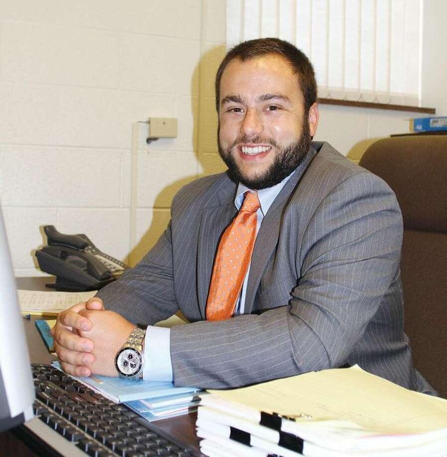 "Charles ""Chas"" Koop II, Huron County's new assistant prosecutor."