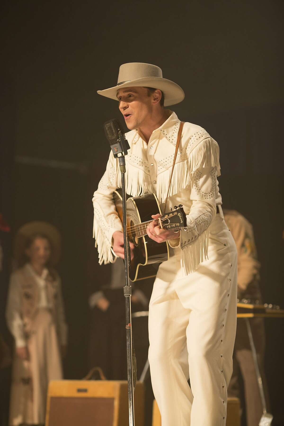 """Tom Hiddleston as Hank Williams in """"I Saw the Light,"""" opening at Bay Area theaters on Friday, April 1.Photo by Sam Emerson, Courtesy of Sony Pictures Classics"""