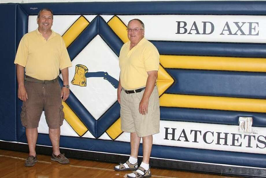 After working together since 1986, Bad Axe baseball coaches Wayne Turmell (left) and Hank Weitenberner have decided to retire from the program. Both are members of the Michigan High School Baseball Coaches Association Hall of Fame.