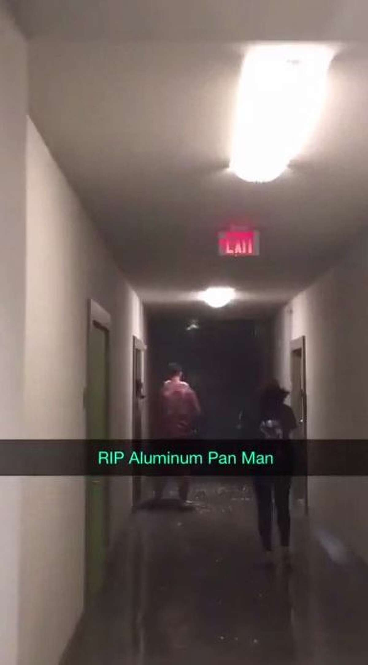 The then-UTSA college student is going viral again thanks to his 2016 video of him heading out into a massive hail storm with an aluminum pan over his head. As he disappeared in the rain, a lightning strike followed, along with screams and car horns.