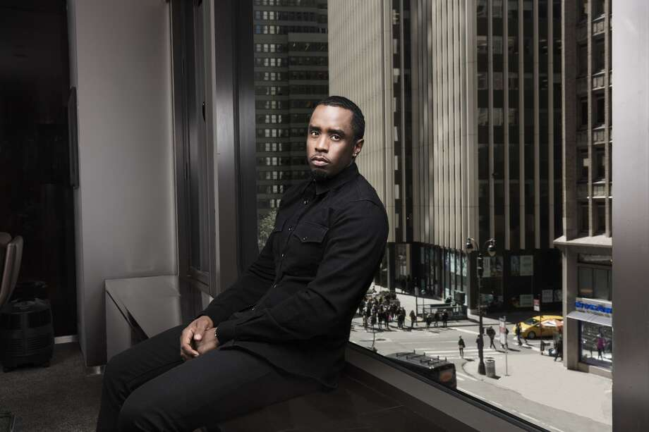 Sean Combs in his Manhattan office at Combs Enterprises in March. Photo: John Midgely, Washington Post