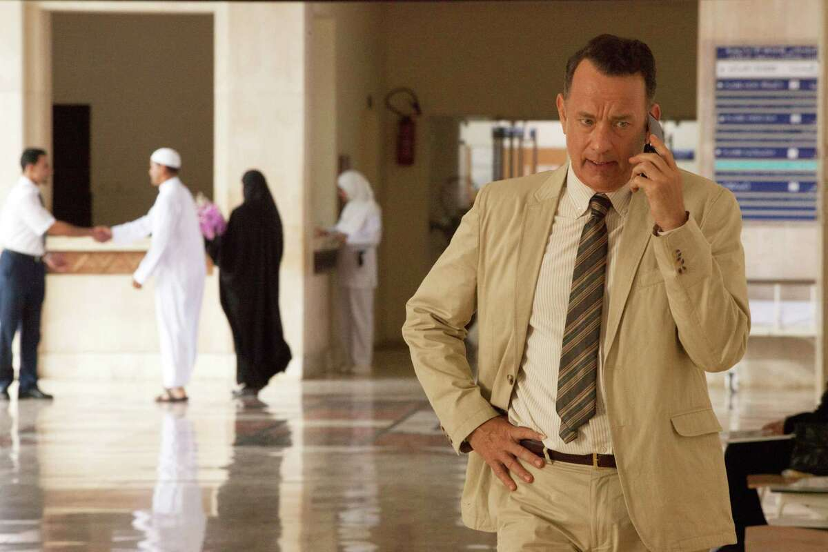 """Tom Hanks stars as a businessman in Saudi Arabia in """"A Hologram for the King."""""""